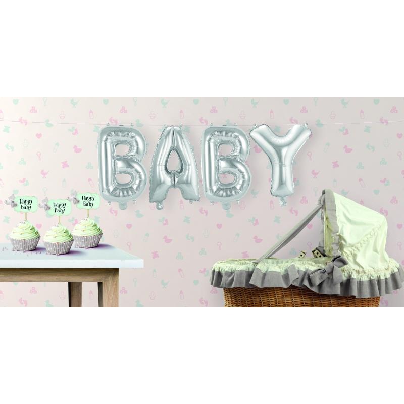 Image of Babyshower ballon BABY geslacht onbekend