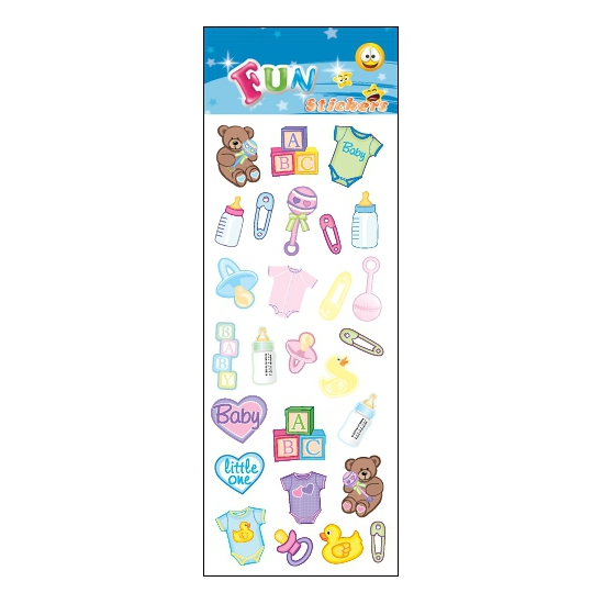 Image of Babyshower stickertjes