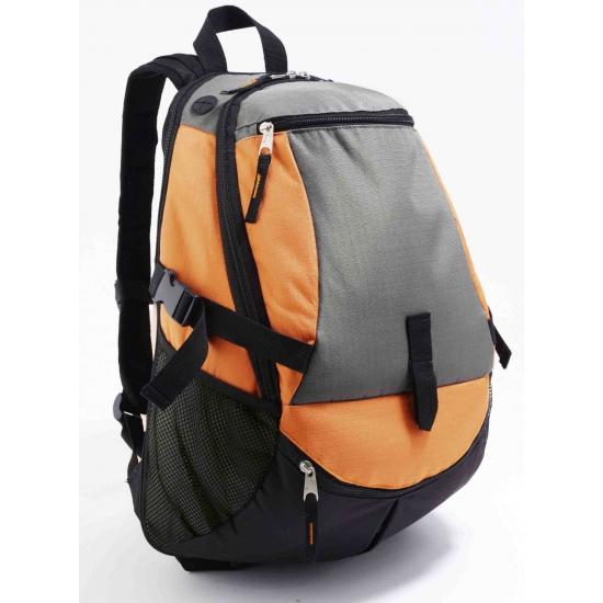 Image of Backpacken oranje rugtas