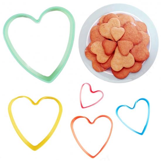 Image of Bakvormpjes hart 5 stuks