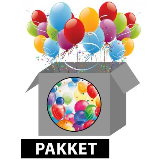 Image of Ballonnen feestpakket versiering
