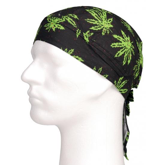 Image of Bandana cap wietblad/Marihuana