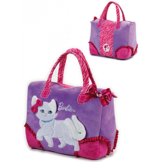 Image of Barbie witte poes shopping tas