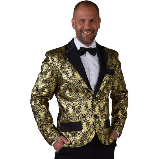 Image of Barok colbert goud voor heren