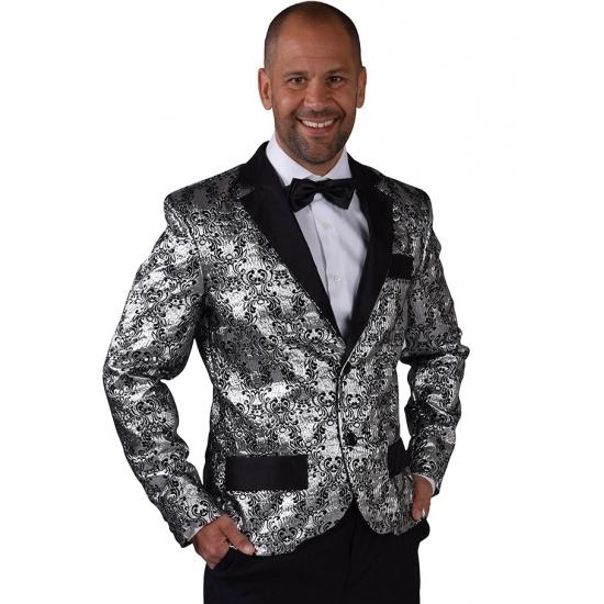 Image of Barok colbert zilver voor heren