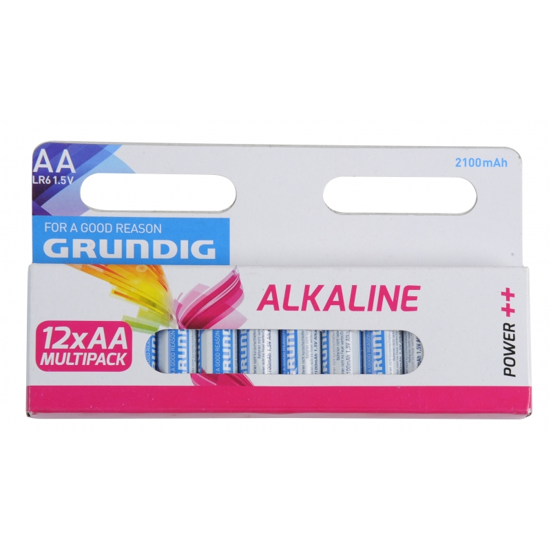 Image of Batterijen AA Grundig 12 stuks