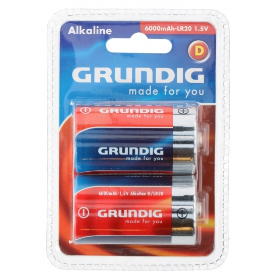 Image of Batterijen LR20 Grundig 2 stuks
