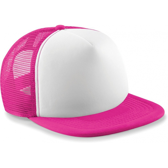 Image of Beechfield trucker pet fuchsia