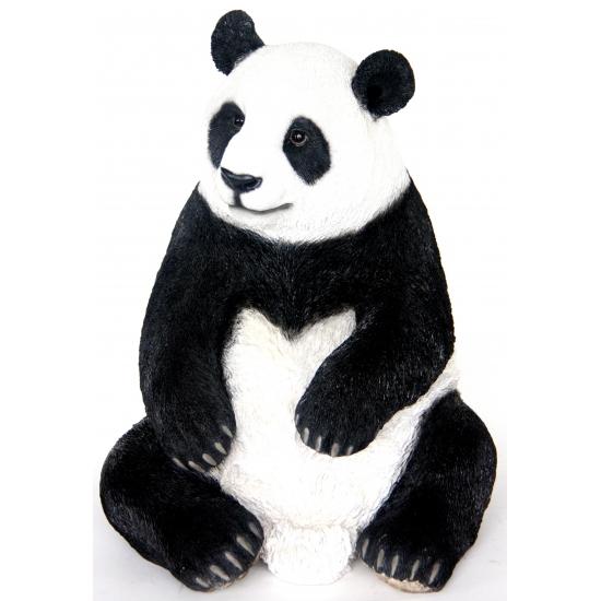 Image of Beeld zittende pandabeer 46 cm
