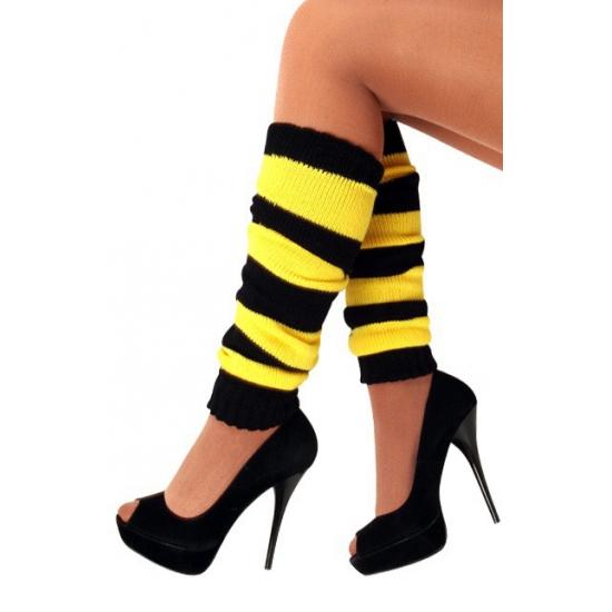 Image of Beenwarmers zwart-geel