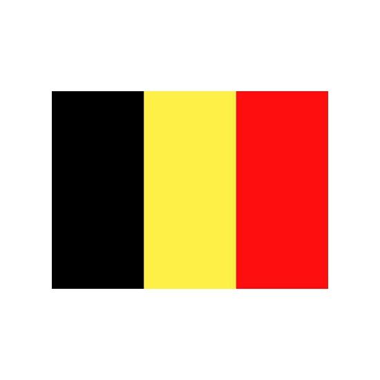 Image of Belgie vlaggetjes stickers