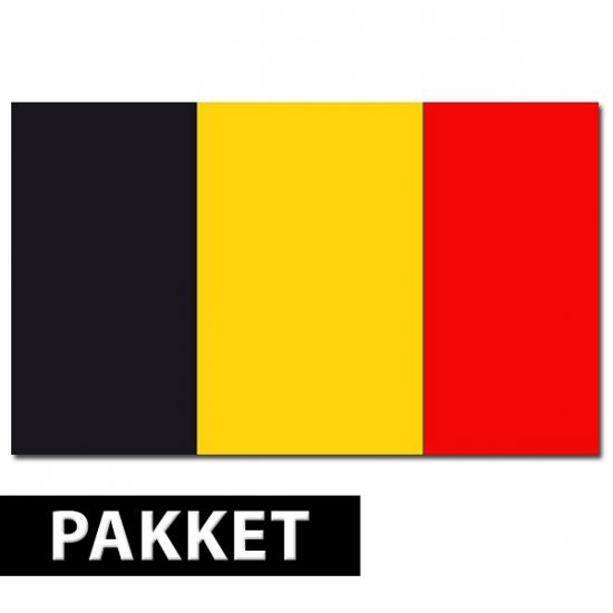 Belgische feestartikelen pakket
