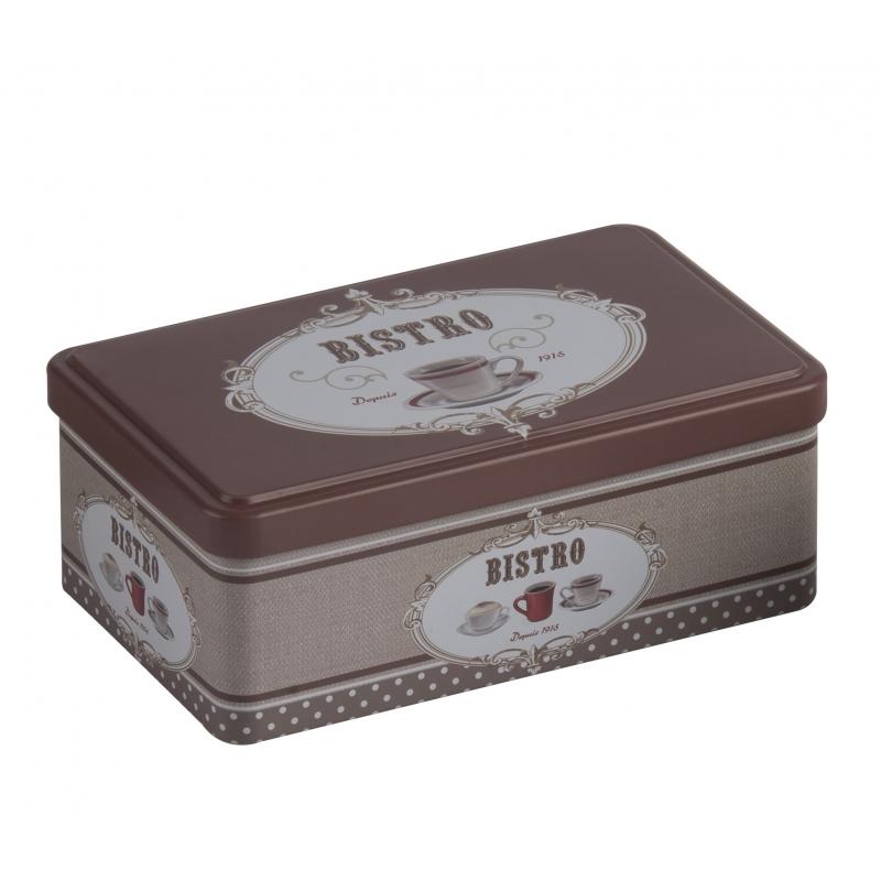 Image of Bewaarblik Bistro bruin 18 cm
