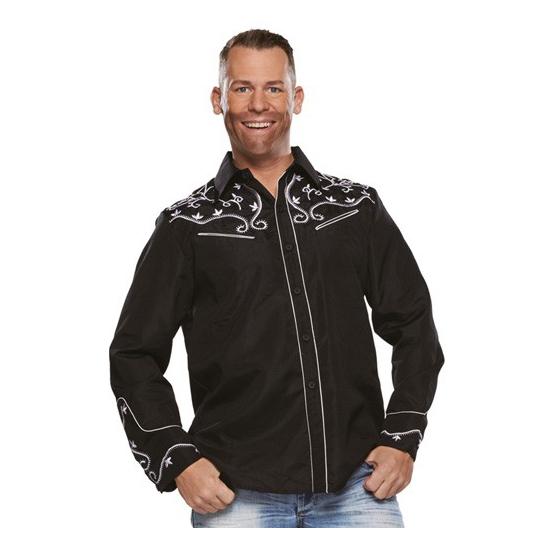 Image of Bierfeest overhemd zwart voor heren