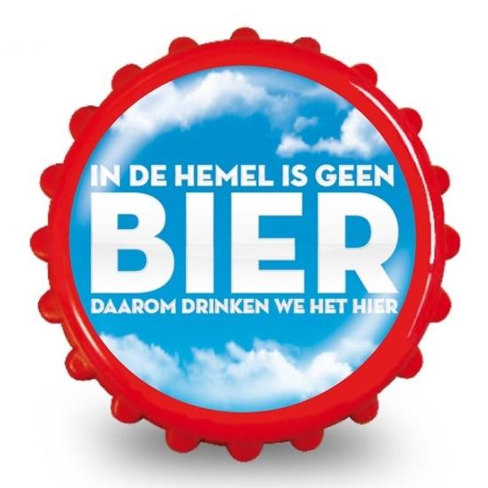 Image of Bieropener hemel