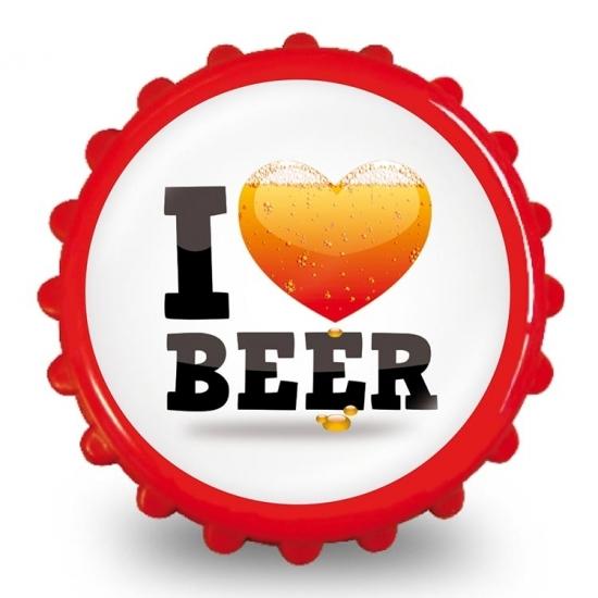 Image of Bieropener liefde voor bier
