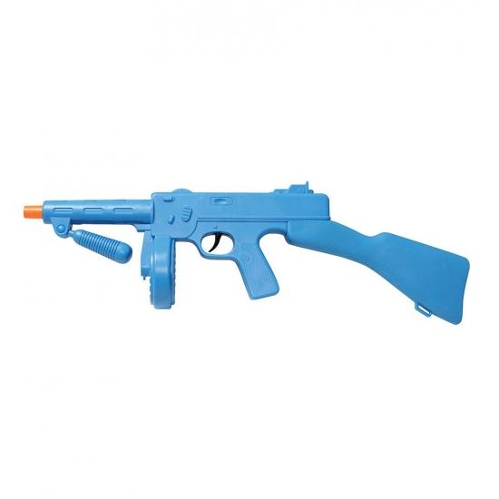 Image of Blauw nep machine geweer