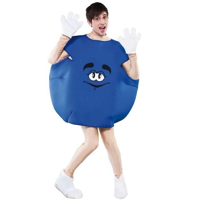 Image of Blauw snoepje kostuum
