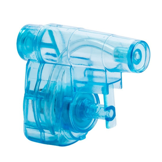 Image of Blauw waterpistooltje 5 cm