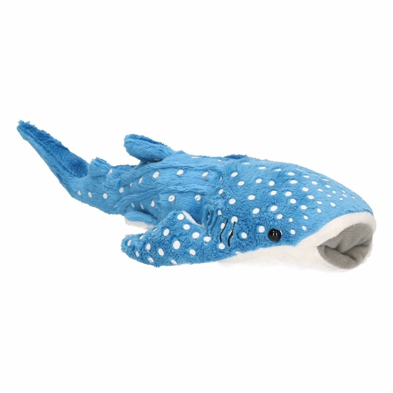 Image of Blauwe knuffel walvis haai 28 cm