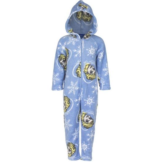 Image of Blauwe onesie kinder joggingpak Frozen