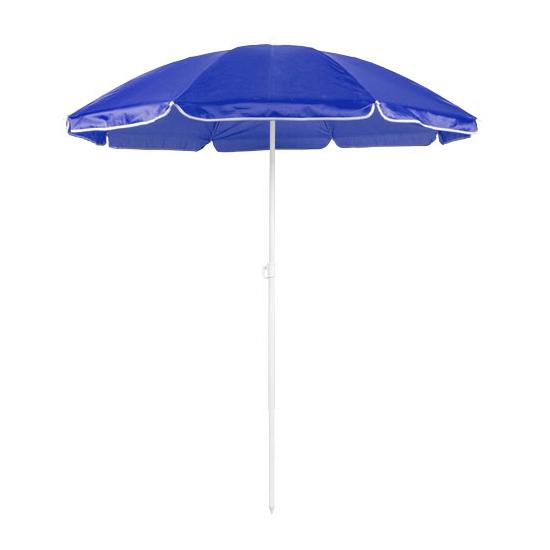 Image of Blauwe parasols van nylon