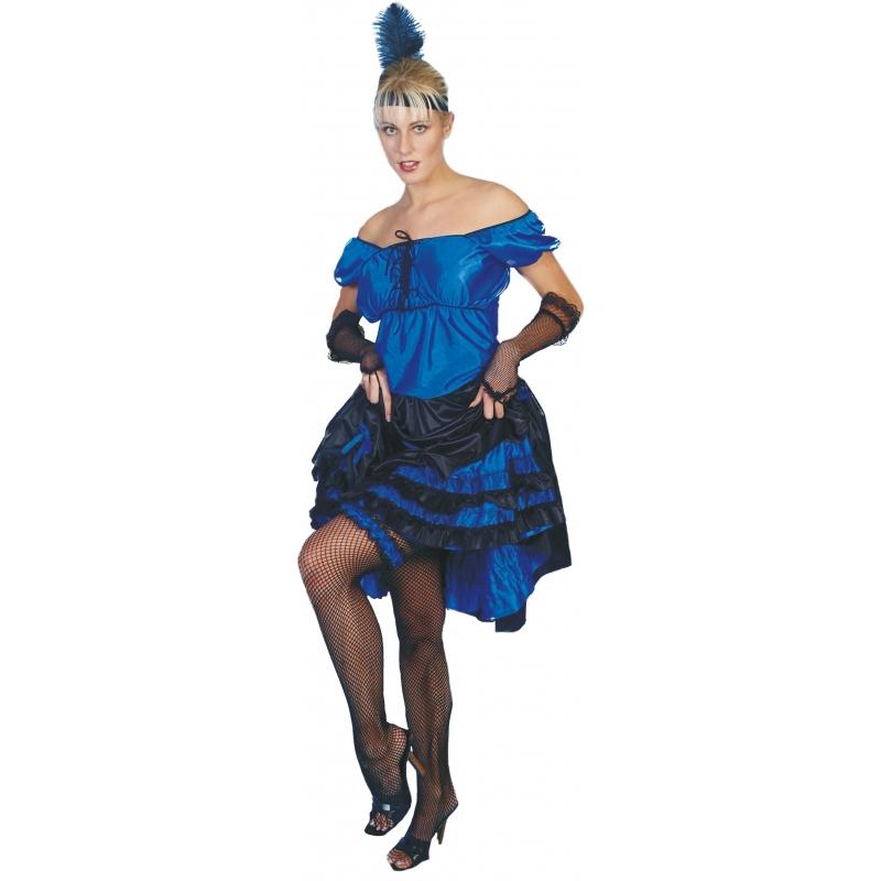 Blauwe salsa jurkjes voor dames