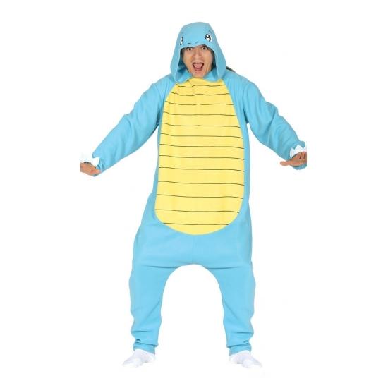 Image of Blauwe schildpad onesie kostuum