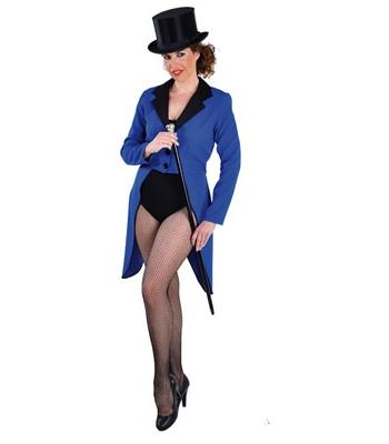 Image of Blauwe slipjassen voor dames