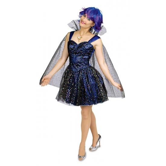 Image of Blauwe sterren fee jurk