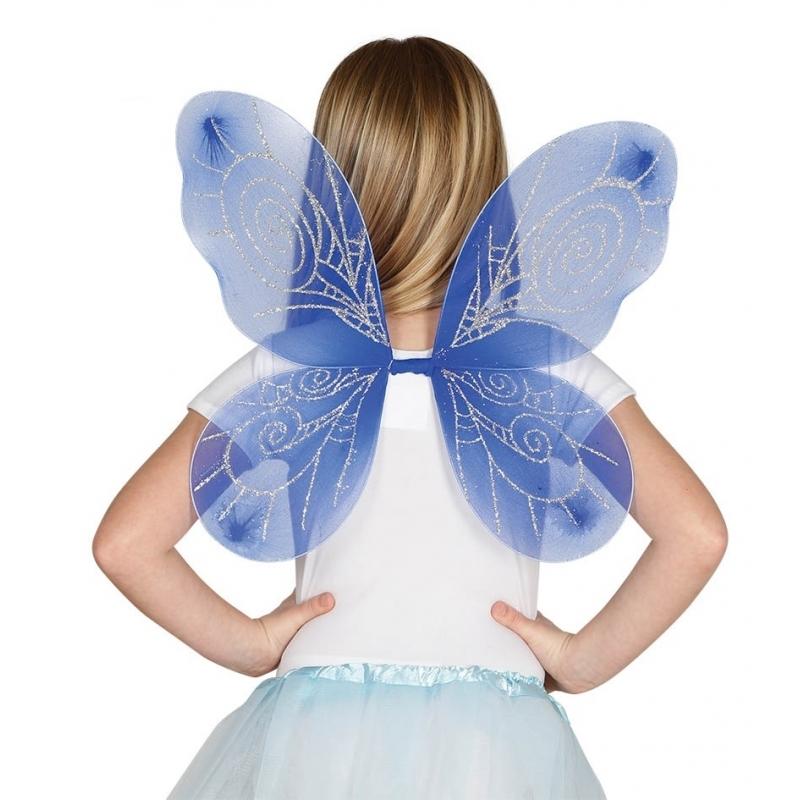 Image of Blauwe vlinder vleugels voor kinderen