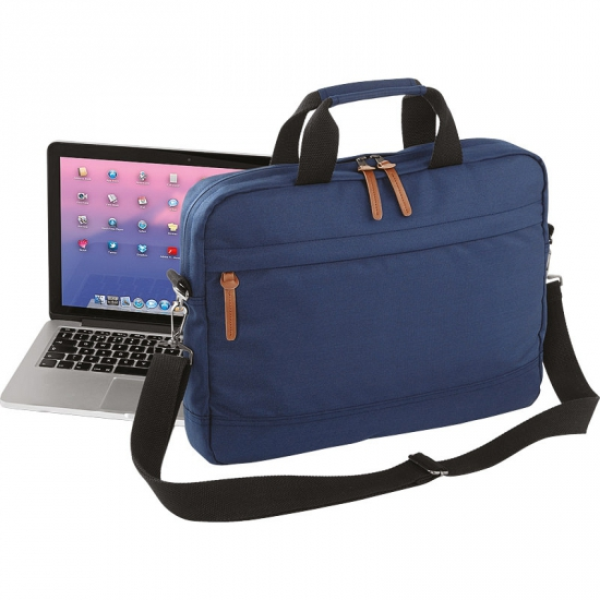 Image of Blauwe waterdichte laptoptas