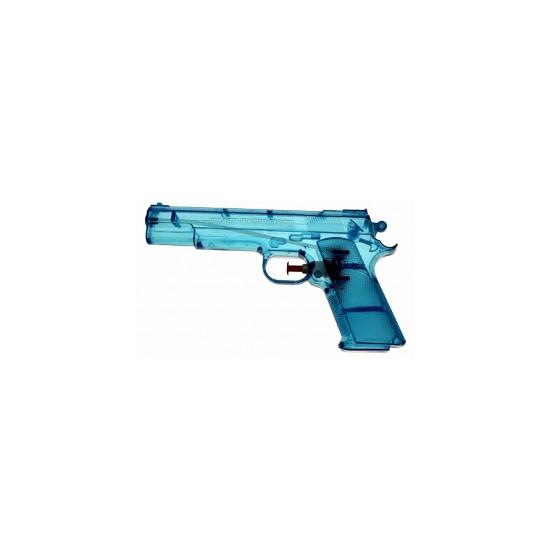 Image of Blauwe waterpistolen 20 cm