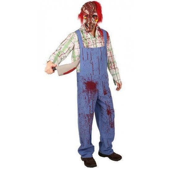 Image of Bloederig Hallowee kostuum zombie