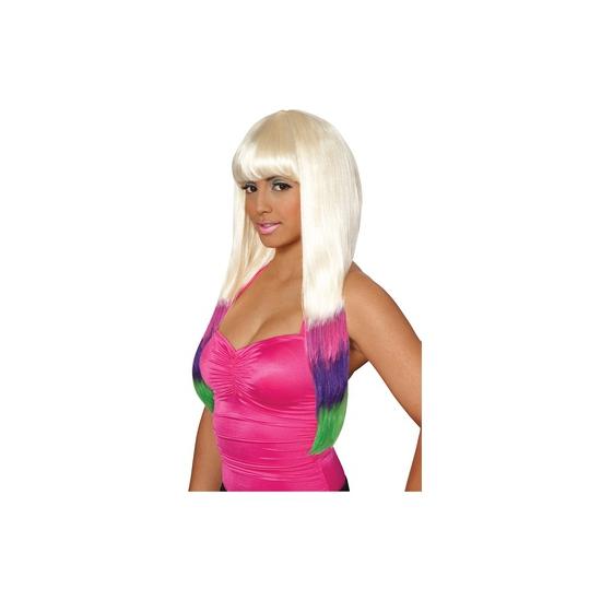 Image of Blonde Nicki pruik voor dames