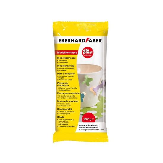 Image of Boetseer klei/gips wit 1 kilo