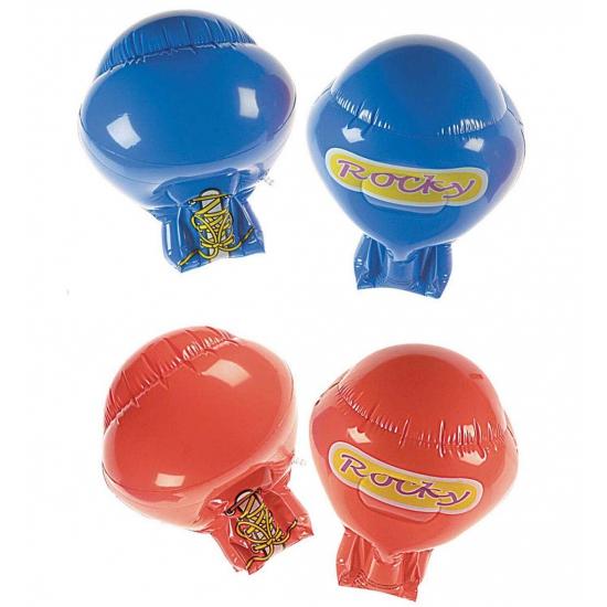 Image of Bokser opblaas handschoenen rood