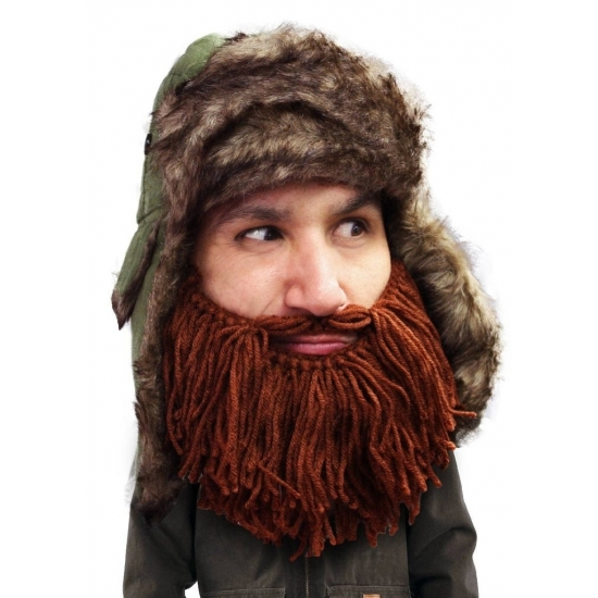 Image of Bontmuts met bruine baard