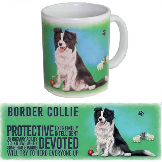 Image of Border Collie thee mok 300 ml