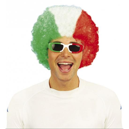 Image of Bril Italiaanse vlag voor heren