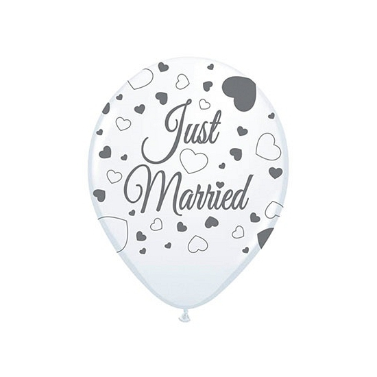 Image of Bruiloft versiering Just Married 8 st