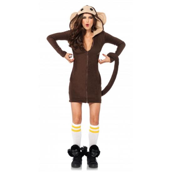 Image of Bruin apen pakje voor dames