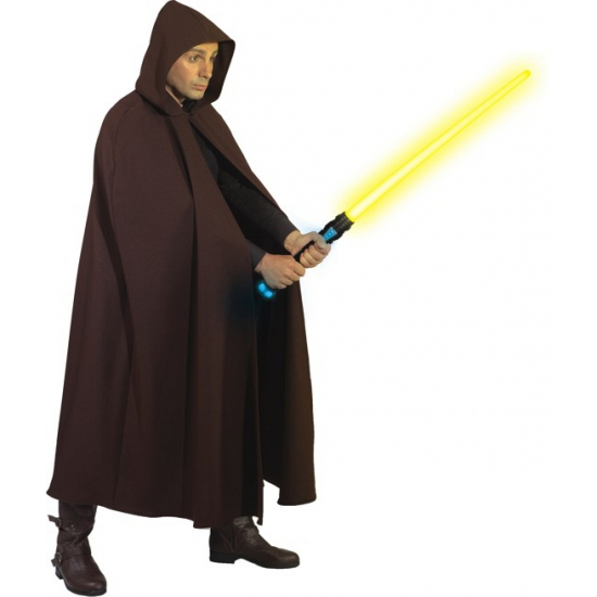 Image of Bruine cape van polyester voor volwassenen