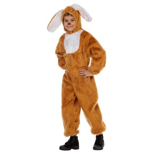 Image of Bruine konijnen pak voor kinderen
