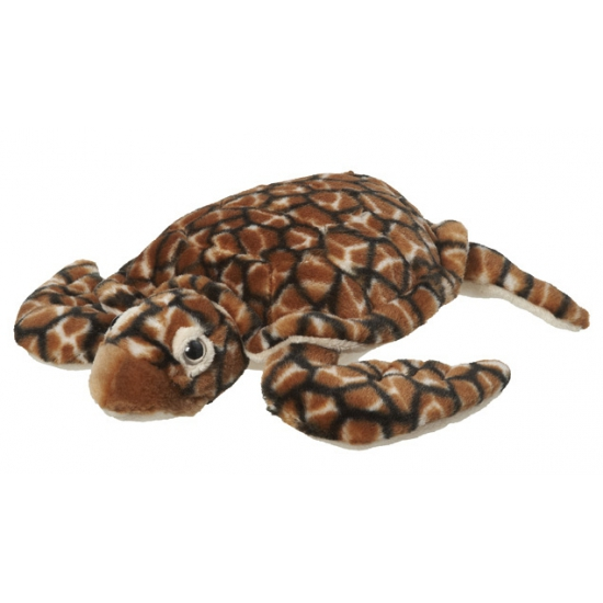 Image of Bruine schildpadden knuffel 30 cm
