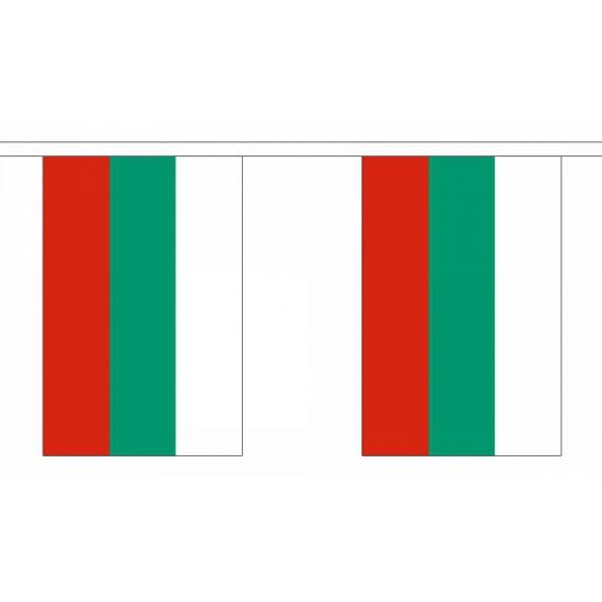 Bulgarije vlaggenlijn 9 m
