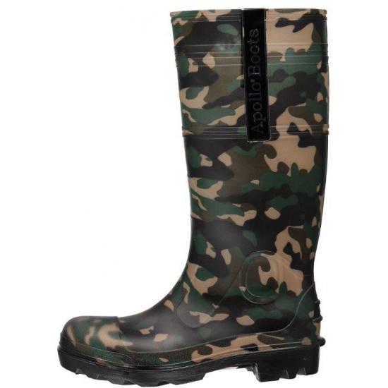 Image of Camouflage heren regenlaarzen