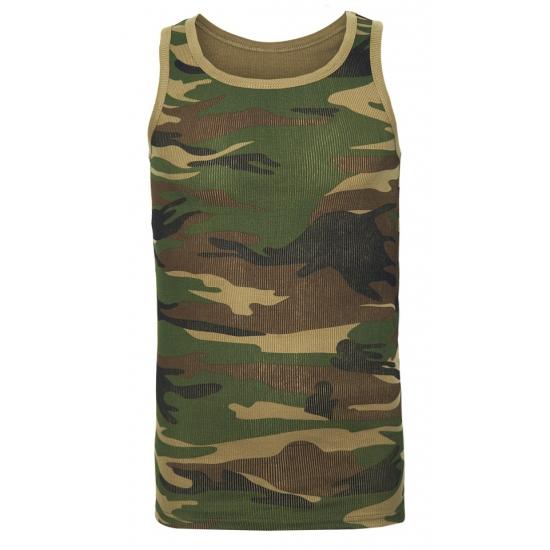 Image of Camouflage tanktop voor heren