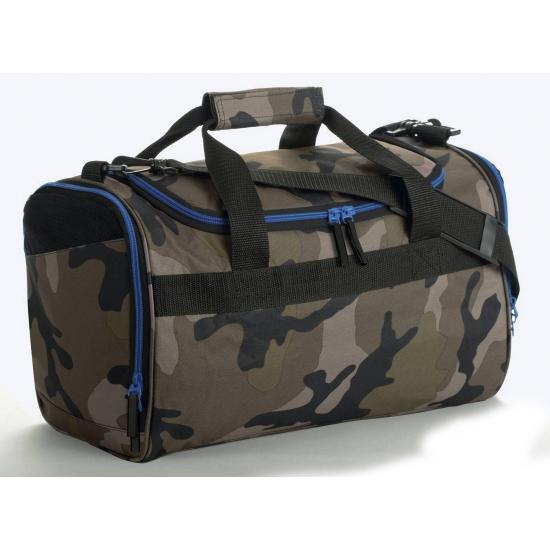 Image of Camouflage tas met vakken