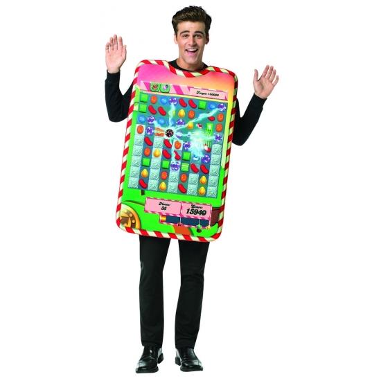 Image of Candy Crush kostuum smartphone app voor volwassenen